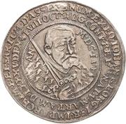 ½ Thaler - Johann Georg I. (Décès) – avers