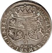 ⅓ Thaler - Friedrich August II – revers