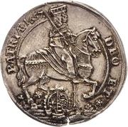 ¼ Thaler - Johann Georg II. (Vicariat) – avers