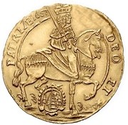 2 Ducat - Johann Georg II. (Vicariat) – avers