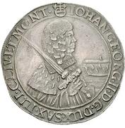 1 Thaler - Johann Georg II. – avers