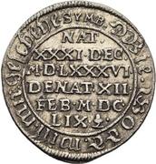 1 Groschen - Johann Georg II. (Death) – revers