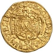 ½ Ducat - Johann Georg II. – revers