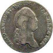 ⅓ Thaler - Friedrich August III – avers
