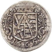 1 Sechser - Johann Georg II. – avers