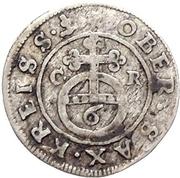 1 Sechser - Johann Georg II. – revers