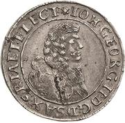 6 Kreuzer - Johann Georg II. – avers