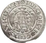 1/24 Thaler - Johann Georg II. – avers