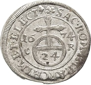 1/24 Thaler - Johann Georg II. – revers