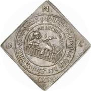 1 Thaler - Johann Georg II. (Klippe; Birth) – revers