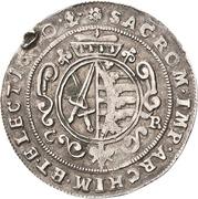 ¼ Thaler - Johann Georg II. (Wechseltaler) – revers