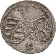 1 Pfennig - Georg – avers