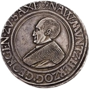 1 Guldengroschen - Georg – avers