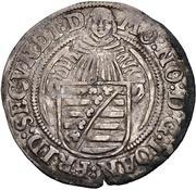 1 Schreckenberger - Johann Friedrich II. (Saalfeld) – avers