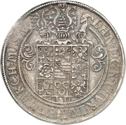 2 Thaler - Johann Friedrich II. – revers