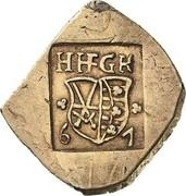 ¼ Thaler - Johann Friedrich II. (Siege coinage) – avers