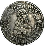 1 thaler Johann Friedrich et Moritz – revers