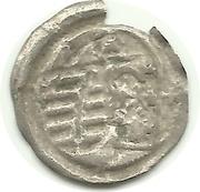 1 pfennig Friedrich III, Johan I, et Georg – revers