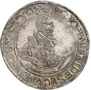 1 thaler Johann Friedrich II – avers