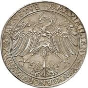 1 guldengroschen Friedrich III – revers