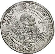 1 thaler Johann Friedrich, Heinrich et Johann Ernst – avers