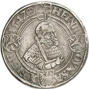 1 thaler Johann Friedrich et Heinrich – revers