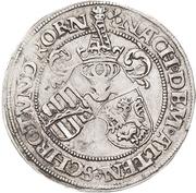 ½ Guldengroschen - Georg – revers