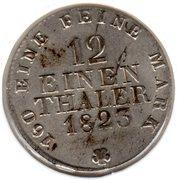 1/12 Taler - Friedrich August I – revers