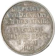 2 Mark - Georg (Mint Visit) – revers