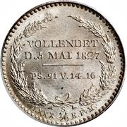 ⅙ Thaler - Friedrich August I – revers