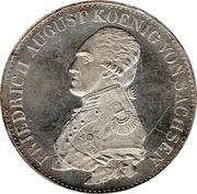 1 Ausbeutekonventionsthaler - Friedrich August I – avers