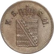 1 Pfennig - Johann – avers