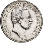 2 Mark - Friedrich August III (Mint Visit) – avers
