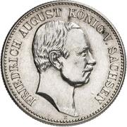 2 Mark - Friedrich August III (Mint Visit) – avers