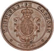 5 Pfennige - Johann – avers