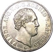 ⅙ Thaler - Friedrich August II -  avers