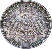 3 Mark (100ème anniversaire de la bataille de Leipzig) – revers