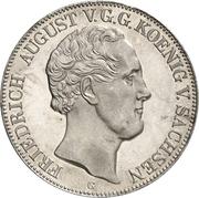 2 Thaler / 3½ Gulden - Friedrich August II (Université de Freiberg) – avers
