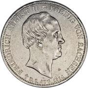2 Thaler - Friedrich August II – avers