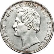 2 Thaler / 3½ Gulden - Johann – avers
