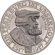 3 Mark -  Friedrich August III – avers