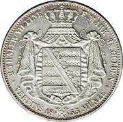 2 Thaler / 3½ Gulden - Johann – revers