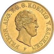 10 Thaler - Friedrich August II – avers