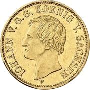 1 Krone - Johann – avers