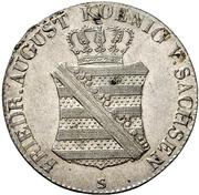 1/12 Thaler - Friedrich August I – avers