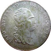 1 Thaler - Friedrich August I – avers