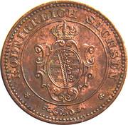 1 Pfennig - Johann -  avers