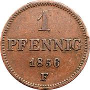 1 Pfennig - Johann – revers