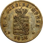 2 Neugroschen - Friedrich August II – avers
