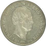1 Thaler - Friedrich August II -  avers